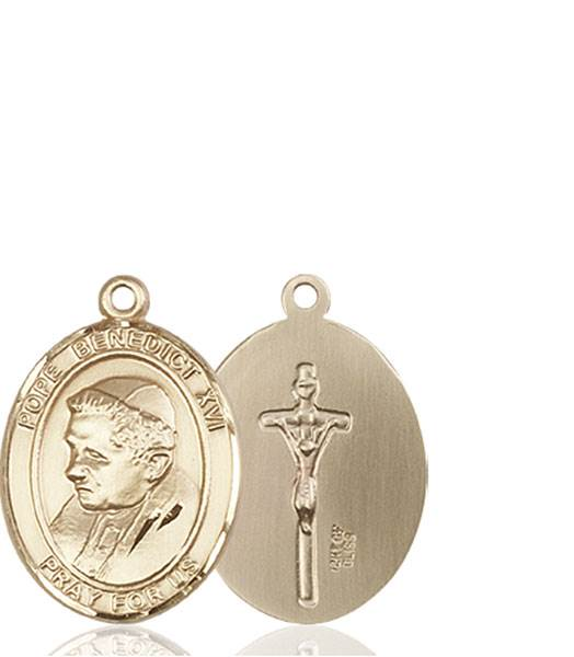 Pope Benedict XVI Necklace Solid Gold
