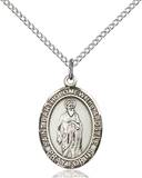 St. Bartholomew Necklace Sterling Silver