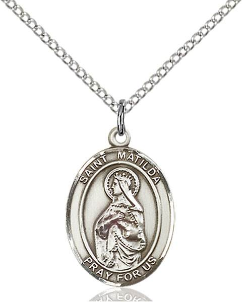 St. Matilda Necklace Sterling Silver