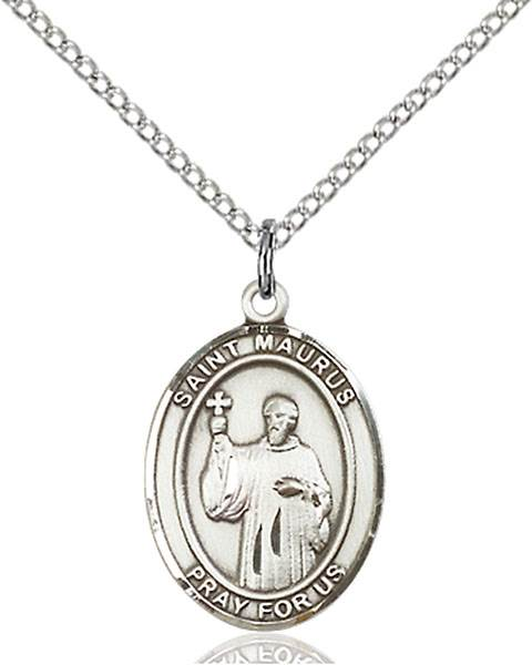 St. Maurus Necklace Sterling Silver