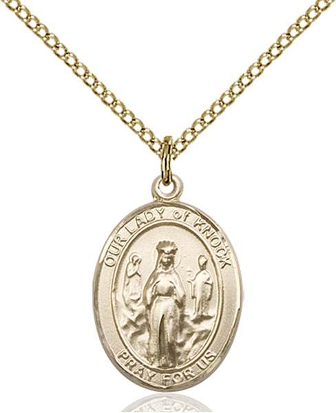 Our Lady of Knock Necklace Sterling Silver