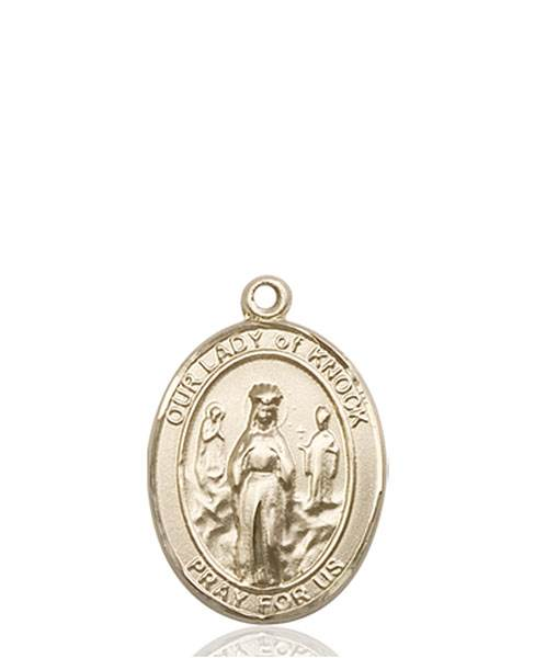 Our Lady of Knock Necklace Solid Gold