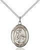 St. Isabella Necklace Sterling Silver