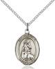 St. Rachel Necklace Sterling Silver