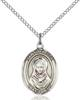 St Rebecca Necklace Sterling Silver