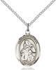 St. Isaiah Necklace Sterling Silver