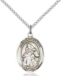St. Isaiah Pendant St. Isaiah,Patron Saints,Patron Saints - I, sterling silver medals, gold filled medals, patron, saints, saint medal, saint pendant, saint necklace, 8258,7258,9258,7258SS,8258SS,9258SS,7258GF,8258GF,9258GF,
