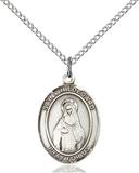 St . Hildegard Necklace Sterling Silver