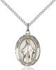Our Lady of Africa Necklace Sterling Silver