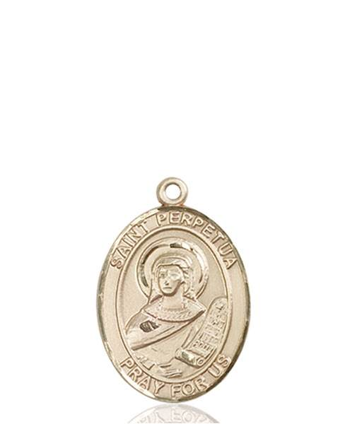 St. Perpetua Necklace Solid Gold