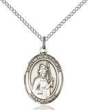 St. Wenceslaus Necklace Sterling Silver