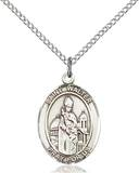 St. Walter Necklace Sterling Silver