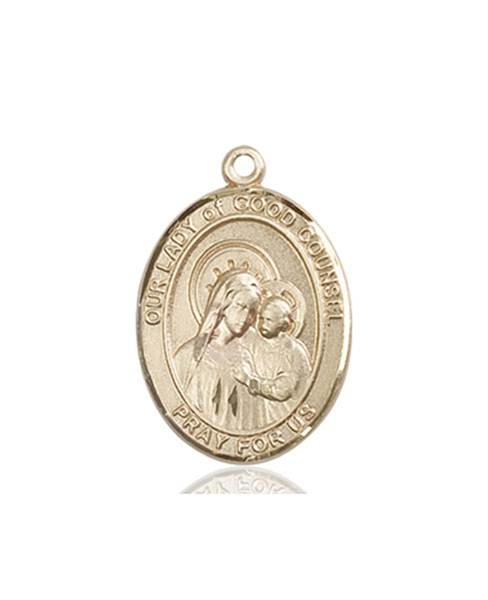 Our Lady of Good Necklace Solid Gold