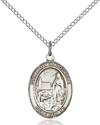 Our Lady of Lourdes Pendant