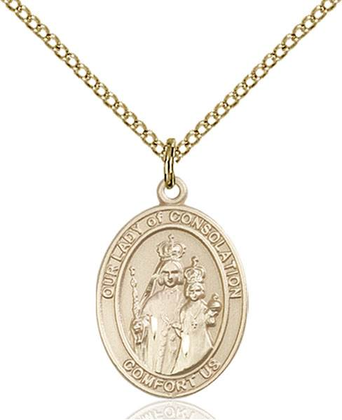 Our Lady of Consolation Necklace Sterling Silver