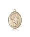 St. Aedan Necklace Solid Gold