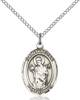 St. Aedan Necklace Sterling Silver