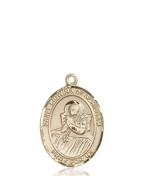 St. Lidwina Necklace Solid Gold