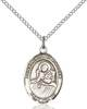 St. Lidwina Necklace Sterling Silver