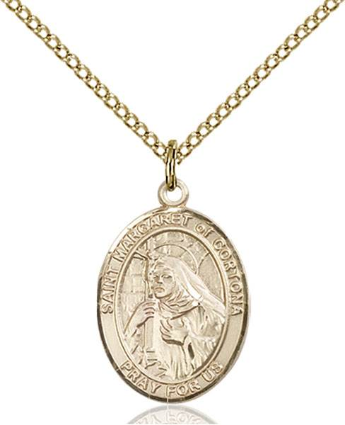 St. Margaret of Cortona Necklace Sterling Silver