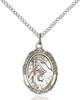 St. Margaret of Cortona Pendant St. Margaret Of Cortona ,Midwives and Homeless,Patron Saints,Patron Saints - M, sterling silver medals, gold filled medals, patron, saints, saint medal, saint pendant, saint necklace, 8301,7301,9301,7301SS,8301SS,9301SS,7301GF,8301GF,9301GF,