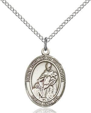 St. Thomas Necklace Sterling Silver