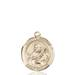 St. Meinrad Necklace Solid Gold