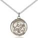 St. Meinrad Necklace Sterling Silver