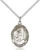 St. Elizabeth of The Visitation Pendant St. Elizabeth Of The Visitation ,Expectant Mothers,Patron Saints,Patron Saints - E, sterling silver medals, gold filled medals, patron, saints, saint medal, saint pendant, saint necklace, 8311,7311,9311,7311SS,8311SS,9311SS,7311GF,8311GF,9311GF,
