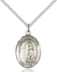 St. Zoe of Rome Pendant St. Zoe Of Rome,Patron Saints,Patron Saints - Z, sterling silver medals, gold filled medals, patron, saints, saint medal, saint pendant, saint necklace, 8314,7314,9314,7314SS,8314SS,9314SS,7314GF,8314GF,9314GF,