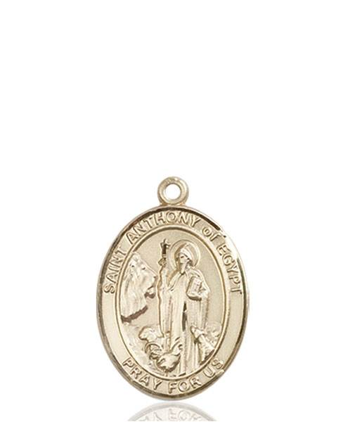 St. Anthony Necklace Solid Gold
