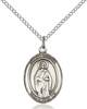 St. Odilia Pendant St. Odilia ,Eye Disease and Eye Problems,Patron Saints,Patron Saints - O, sterling silver medals, gold filled medals, patron, saints, saint medal, saint pendant, saint necklace, 8319,7319,9319,7319SS,8319SS,9319SS,7319GF,8319GF,9319GF,