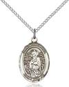 St. Christina The Astonishing Patron Saint Necklace