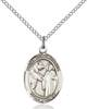 St. Columbanus Necklace Sterling Silver