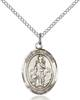 St. Cornelius Necklace Sterling Silver