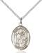 St. Kenneth Necklace Sterling Silver