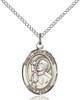 St. Rene Goupil Necklace Sterling Silver