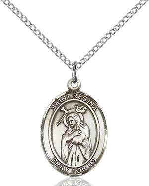 St. Regina Necklace Sterling Silver