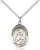 Immaculate Heart of Mary Necklace Sterling Silver