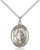 St. Clement Necklace Sterling Silver