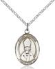 St. Anselm Necklace Sterling Silver