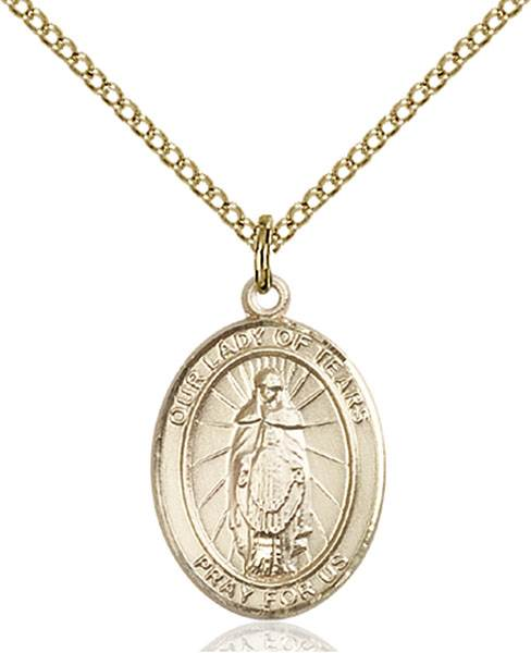 Our Lady of Tears Necklace Sterling Silver
