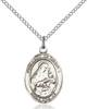 Our Lady of Grapes Necklace Sterling Silver