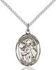 St. Januarius Necklace Sterling Silver