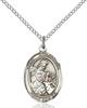St. Eustachius Necklace Sterling Silver