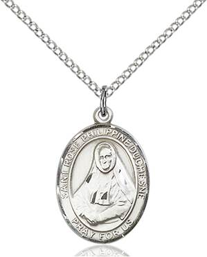 St. Rose Necklace Sterling Silver