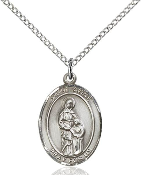 St. Anne Necklace Sterling Silver