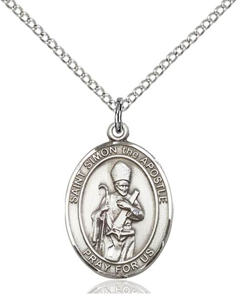 St. Simon Necklace Sterling Silver