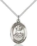 St. Honorius Necklace Sterling Silver