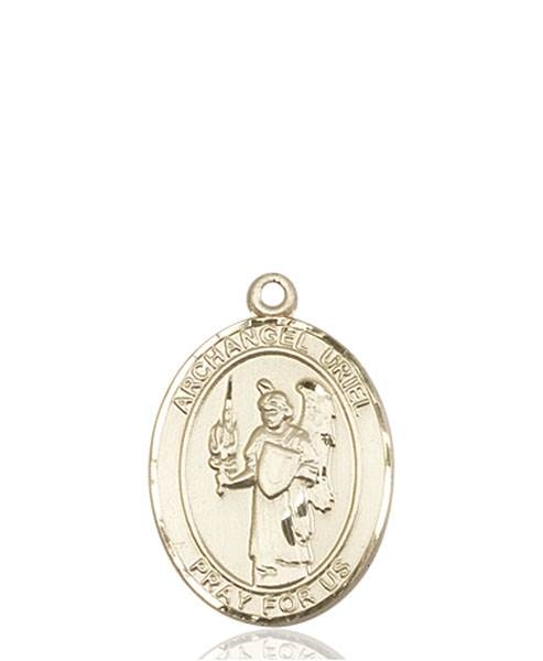 St. Uriel Necklace Solid Gold